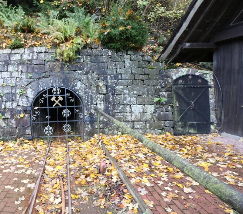 Bergwerksmuseum Lautenthals Glück Einfahrt