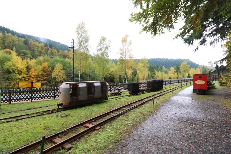Bergwerksmuseum Lautenthals Glück Grubenbahn