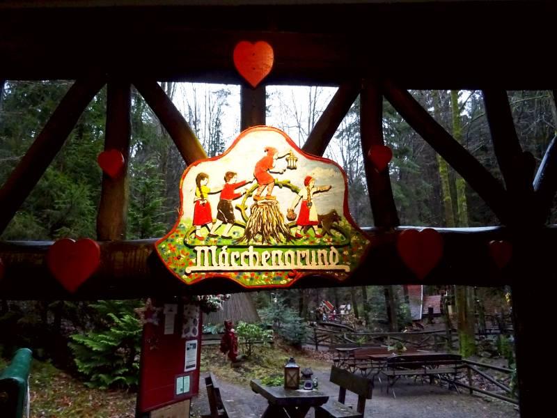 Märchengrund Bad Sachsa Eingangsschild
