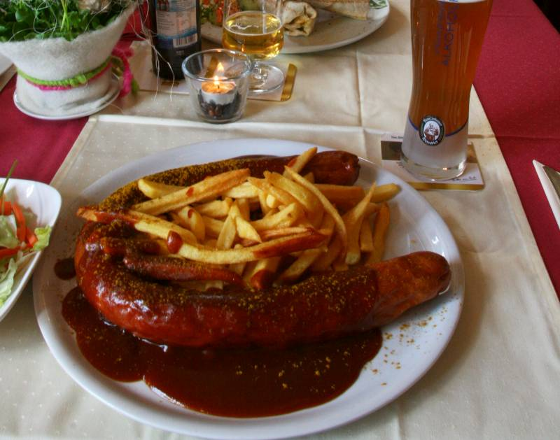 Maltermeister Turm Currywurst