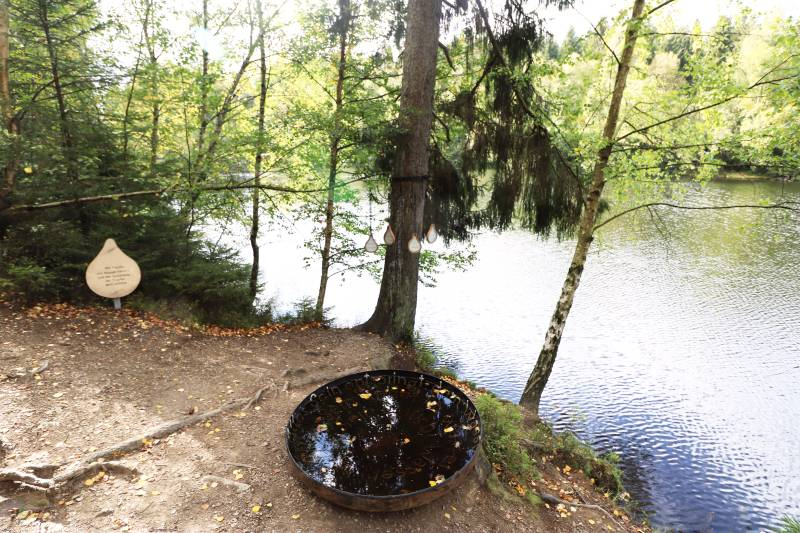 Naturmythenpfad Teich
