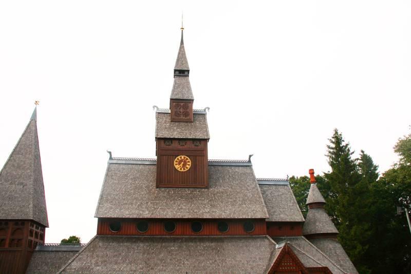 Stabkirche Hahnenklee Uhrenturm