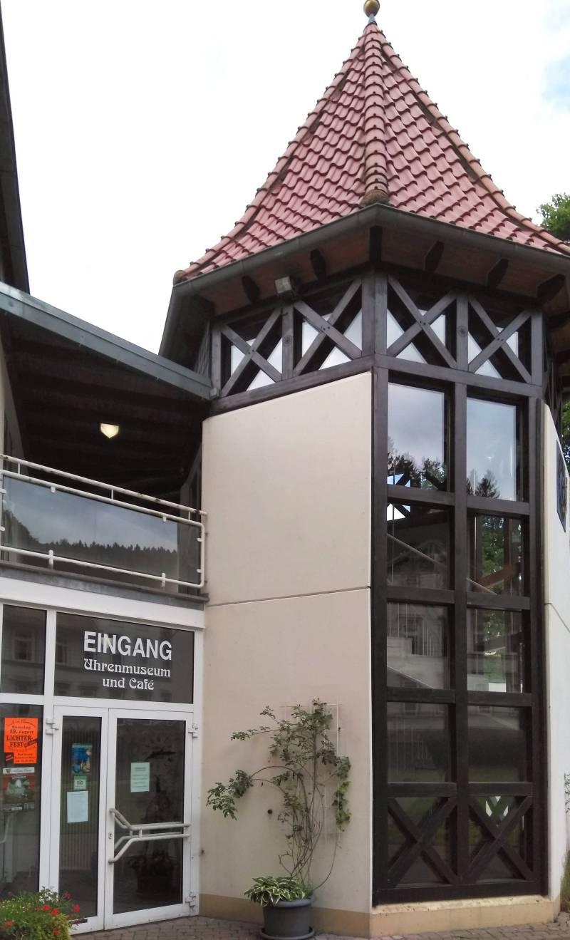 Uhrenmuseum Bad Grund Eingang